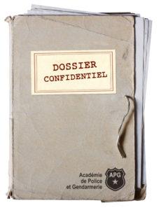 Dossier confidentiel de l'Académie de Police